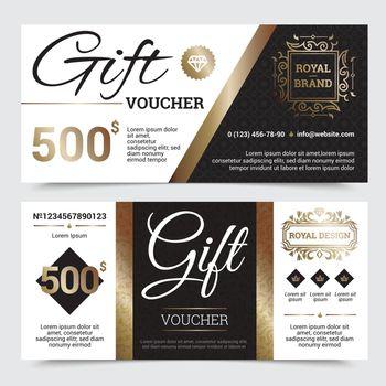 Gift Coupon Royal Design