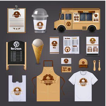 Ice Cream Corporate Identity Design