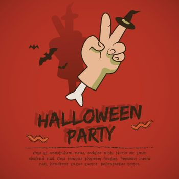 Halloween Party Leaflet