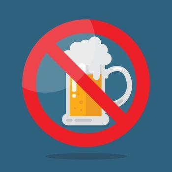 No beer symbol