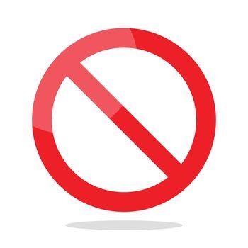 Prohibition no symbol