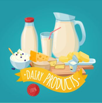 Dairy Products Poster