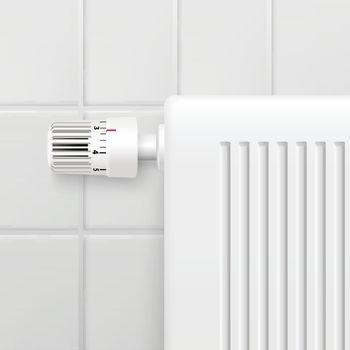 Temperature Control Knob Realistic Image