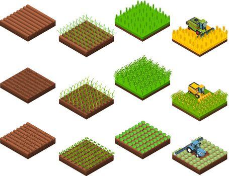 Harvest Work Elements Set