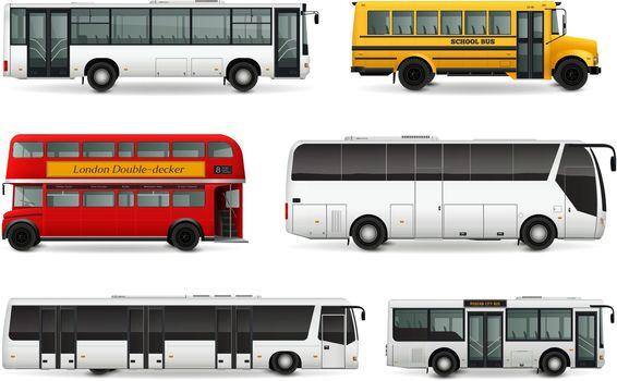 Bus Realistic Set