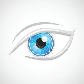 Eyes icon hi-tech