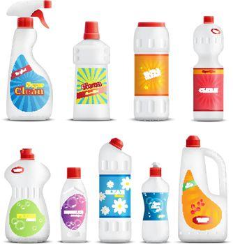 Household Chemical Goods Set