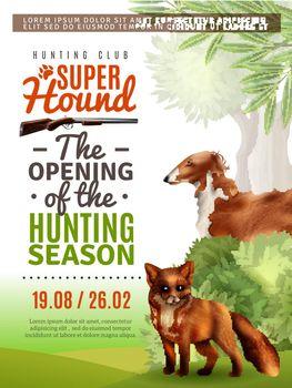 Hunting Season Opening Poster
