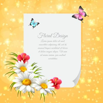 Daisy Realistic Letter