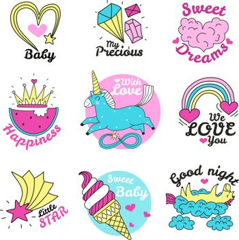 Cute Magic Emblems