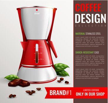 Household Kitchen Appliances Poster