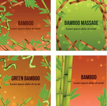 Bamboo Realistic Concept