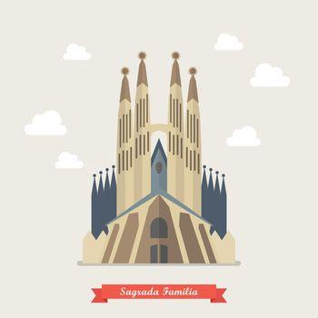 Catholic church Sagrada Familia