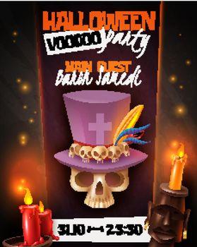 Halloween Voodoo Poster