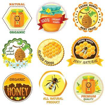 Honey Emblem Set