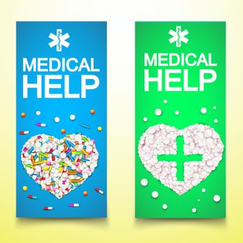 Healthy Medical Vertical Banners