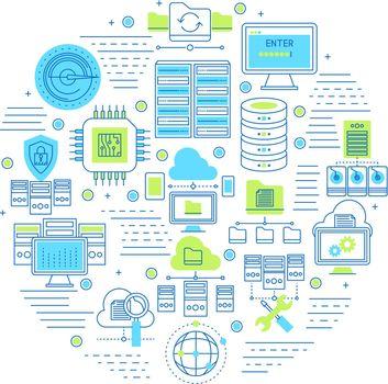 Datacenter Round Composition