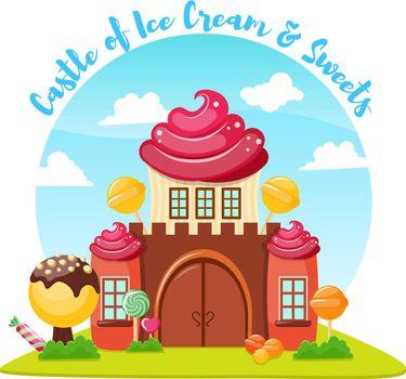 Ice Cream Castle Composition