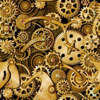 Golden Gears Pattern