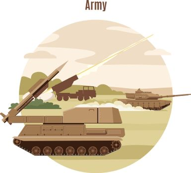 Ground Military Transport Template