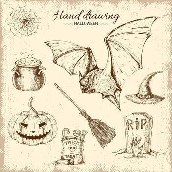 Halloween Hand Drawn Design
