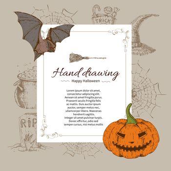 Halloween Letter Template