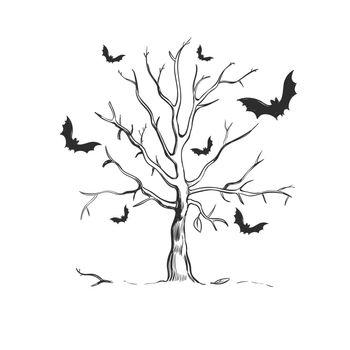 Halloween Sketch Concept