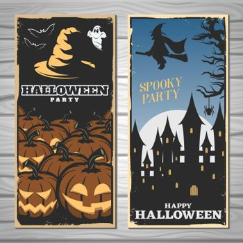 Halloween Party Flyers