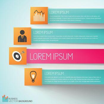 Goal Achievement Business Infographics
