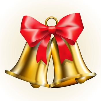 Bells with bow