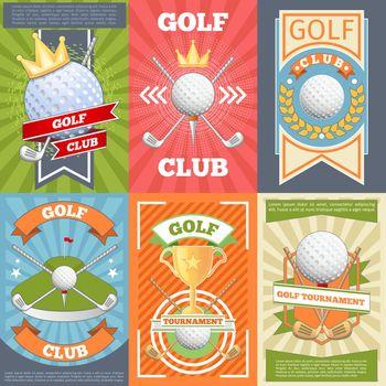 Golf club posters