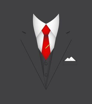 business suit concept