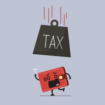 Heavy tax falling to frightened wallet