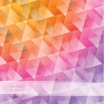 Grid Mosaic Abstract Background