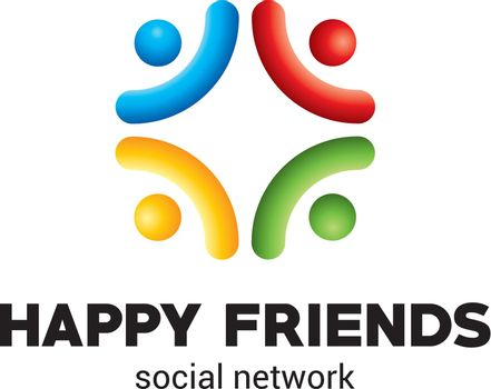 Happy Friends Poster