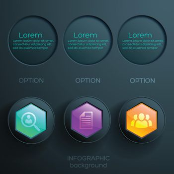 Business Abstract Infographic Concept