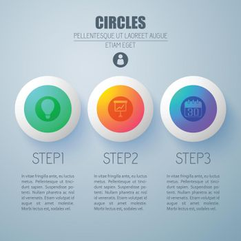 Business Infographic Web Concept