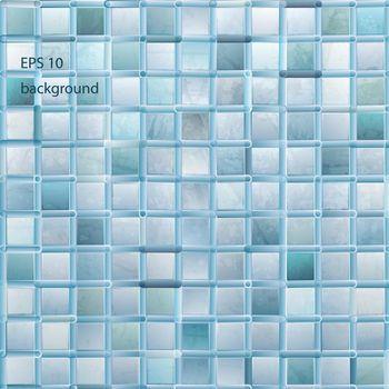 grunge light mosaic background