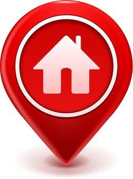 Home Icon Pin