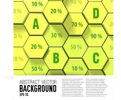 Honeycomb Geometric Business Infographics
