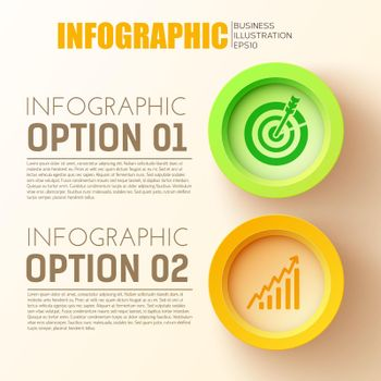 Business Options Infographic Concept