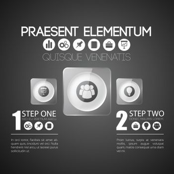 Abstract Infographic Concept