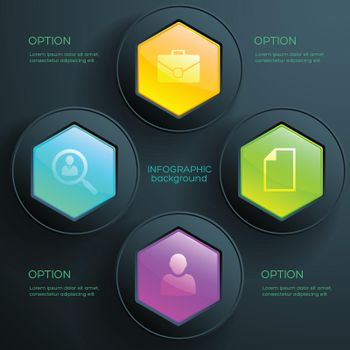 Business Infographic Diagram Template