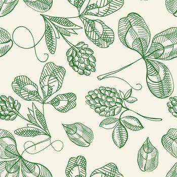 Hop Seamless Pattern Doodle