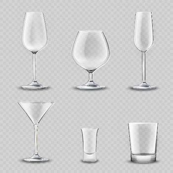 Glassware Transparent Set