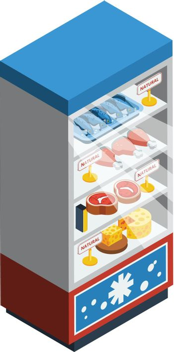 Food Collection Isometric