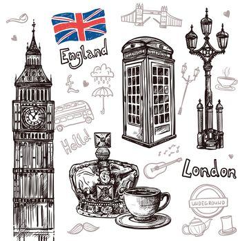 London Sketch Set