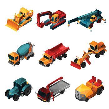 Isometric Construction Machines