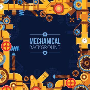 Machinery Parts Background