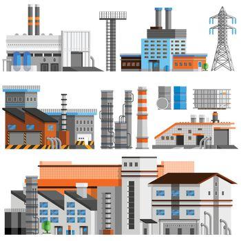 Industrial Buildings Orthogonal Set